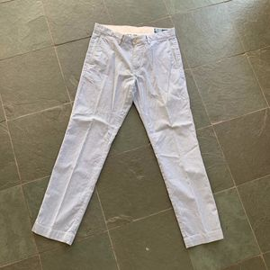 Blue and White striped Polo Ralph Lauren Pants